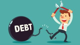 借金返済の画像